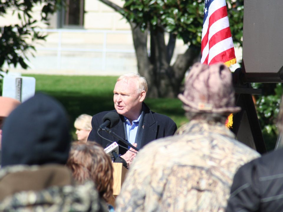 Criswell speaks at second amendment rally