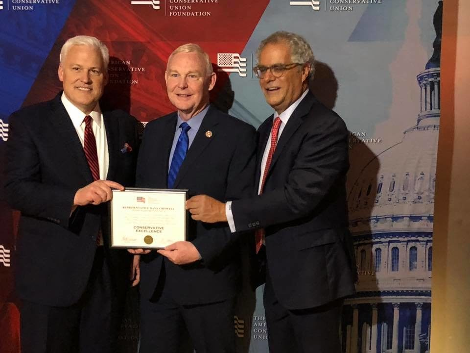 Rep. Dana Criswell receives ACU Award for Conservative Excellence